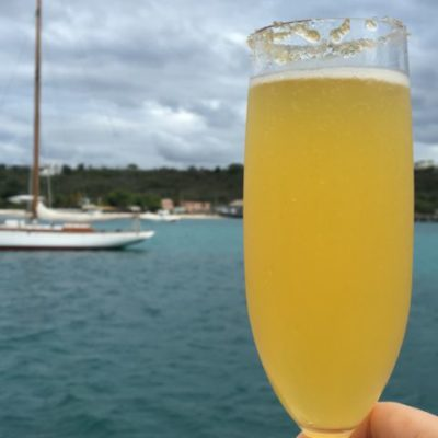 Sunset sail with Tradition, Anguilla