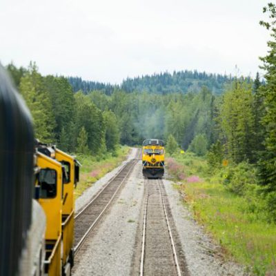 Fairbanks to Anchorage on the Alaska Railroad